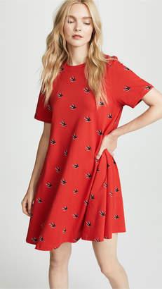 McQ Alexander McQueen Babydoll Dress