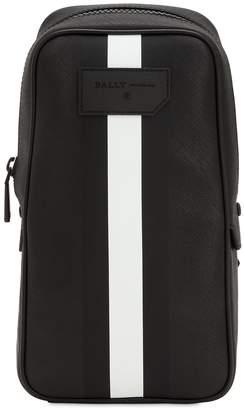 Bally Striped Faux Leather Crossbody Bag