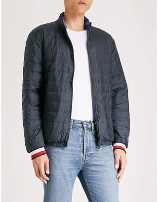 Tommy Hilfiger Reversible shell-down bomber jacket