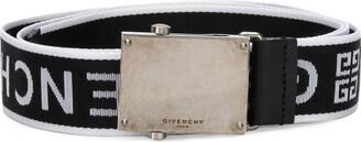 Givenchy logo strap belt