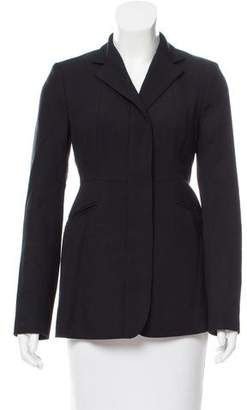Narciso Rodriguez Structured Wool Blazer