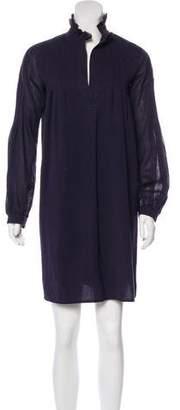 Derek Lam Long Sleeve Ruffle Dress