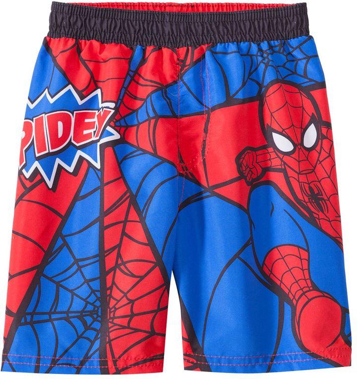 C-Life CLife Toddler Boys' Spiderman Trunks (2T-3T) - 8142095