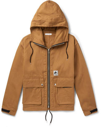 Flagstuff Cotton-Canvas Hooded Jacket