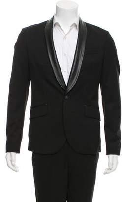 Pierre Balmain Wool Single-Button Blazer