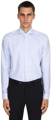Eton Stretch Fine Cotton Twill Shirt