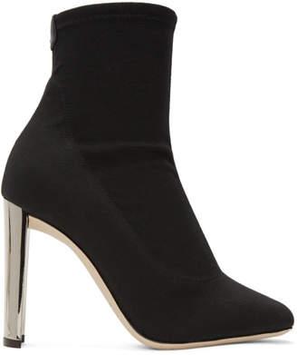 Giuseppe Zanotti Black Ruggente Sock Boots
