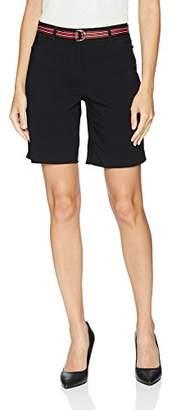 Rafaella Women's Belted Supreme Stretch Short