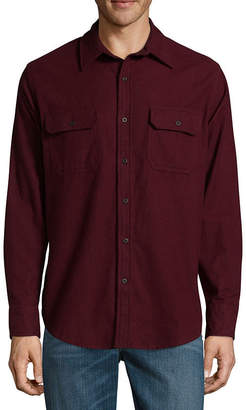 ST. JOHN'S BAY Long Sleeve Button-Front Shirt