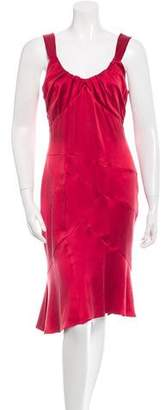 Yigal Azrouel Classic Sleeveless Silk Dress