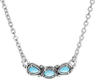 Carolyn Pollack Simply Fabulous 3-Gemstone Necklace