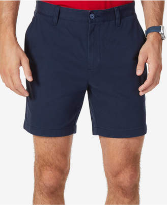 "Nautica Men Stretch Flat Front 6"" Shorts"