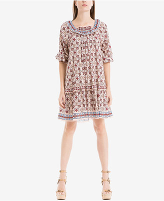 Max Studio London Pleated Shift Dress $128 thestylecure.com