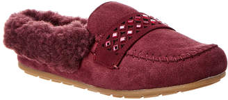 BearPaw Tilley Suede Moccasin Slipper
