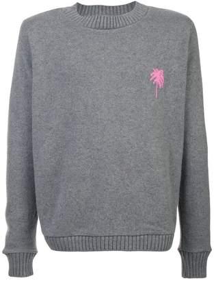 The Elder Statesman palm sweater