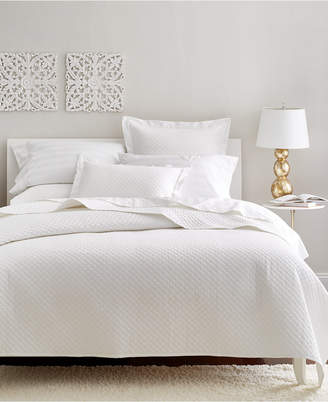 Charter Club Damask Cotton 3-Pc Quilted King Coverlet