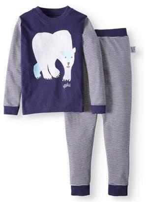 Eric Carle Polar Bear Long Sleeve Tight Fit Pajamas, 2-piece Set (Baby Boys, Baby Girls, Toddler Boys, or Toddler Girls Unisex)
