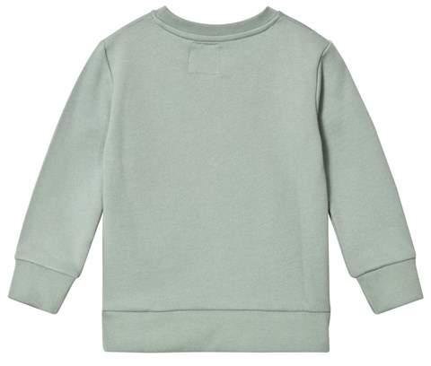 One We Like Jadeite Green Mr Penguin Basic Sweatshirt