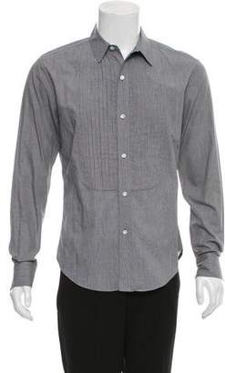 Band Of Outsiders Pleated Button-Up Shirt