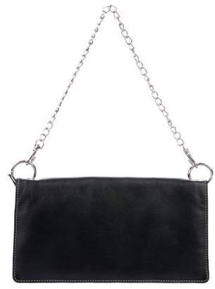 Barneys New York Barney's New York Leather Flap Bag
