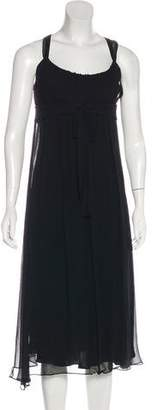 Max Mara Silk Midi Dress