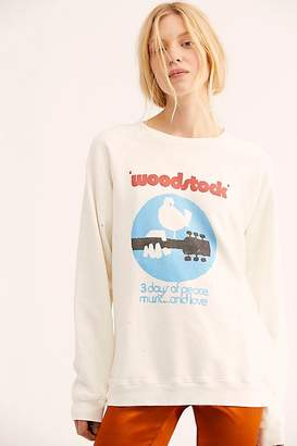 Original Retro Brand Woodstock - 3 Days Of Peace Sweatshirt
