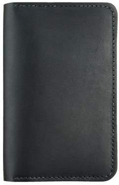 Red Wing Shoes Shoes Leather Passport Wallet in Black