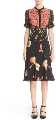 Women's Etro 'Kimono' Floral Print Silk Dress $1,480 thestylecure.com