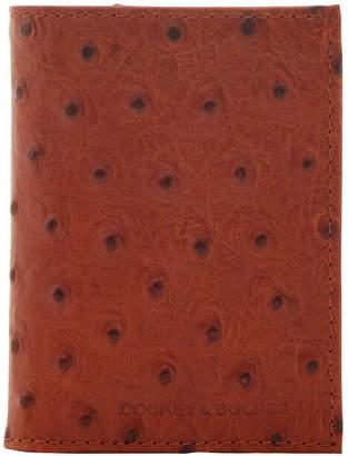 Dooney & Bourke Ostrich Trifold Wallet