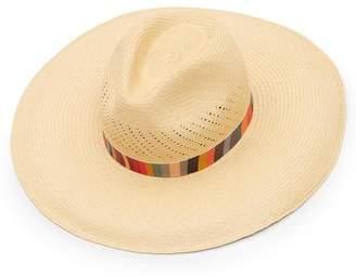 1dbb9d243b9 Paul Smith Swirl Stripe Panama Straw Hat