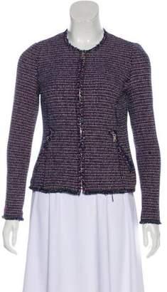 Rebecca Taylor Tweed Zip-Up Jacket