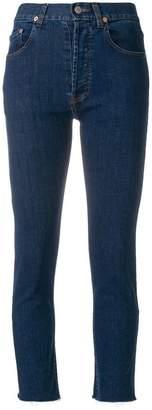 Couture Forte Dei Marmi zip detail cropped jeans