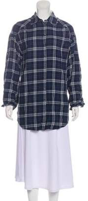 Vince Long Sleeve Button-Up Blouse w/ Tags