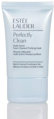 Estee Lauder Perfectly Clean Multi-Action Foam Cleanser\u002FPurifying Mask 1 oz. - Travel Size