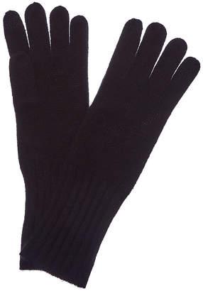 Hannah Rose Women's Black Cashmere Gloves