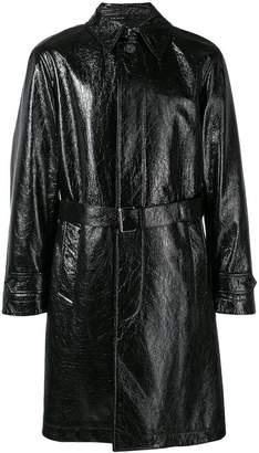 Alexander McQueen straight fit trench coat
