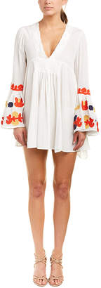 Haute Rogue Embroidered Shift Dress