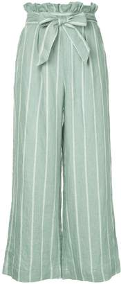 Suboo striped wide leg trousers