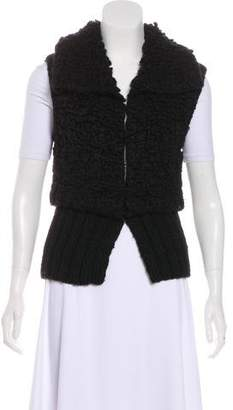 Alexander Wang Textured Knit Vest