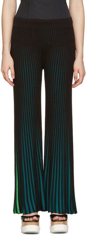 Kenzo Kenzo Multicolor Flared Trousers
