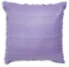 Jonathan Adler Frayed Silk Pillow