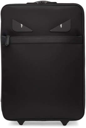 Fendi Black Bag Bugs Trolley Suitcase