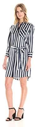 ATM Anthony Thomas Melillo Women's Striped Shirt Dress