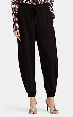 Chloé Women's Crepe Drawstring Jogger Pants - Black