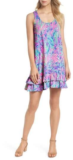R) Evangelia Sleeveless Racerback Dress