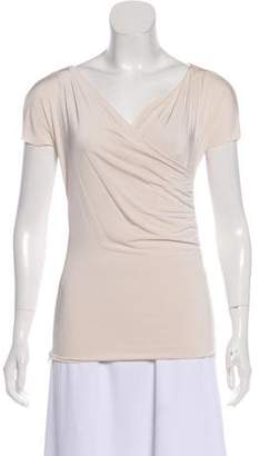 Calvin Klein Collection Drape Knit Top