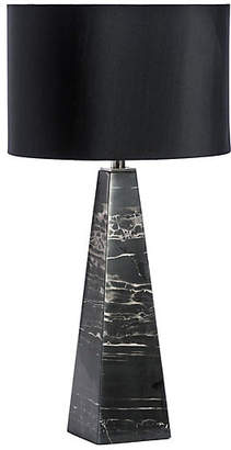 Interlude Maddox Marble Table Lamp - Black