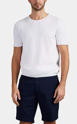 Eleventy Men's Fine-Gauge Cotton T-Shirt - White