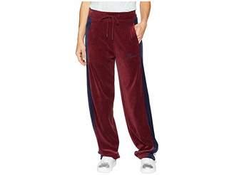 Puma Velour Track Pants Women's Casual Pants