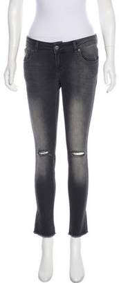 Anine Bing Low-Rise Skinny Jeans w/ Tags